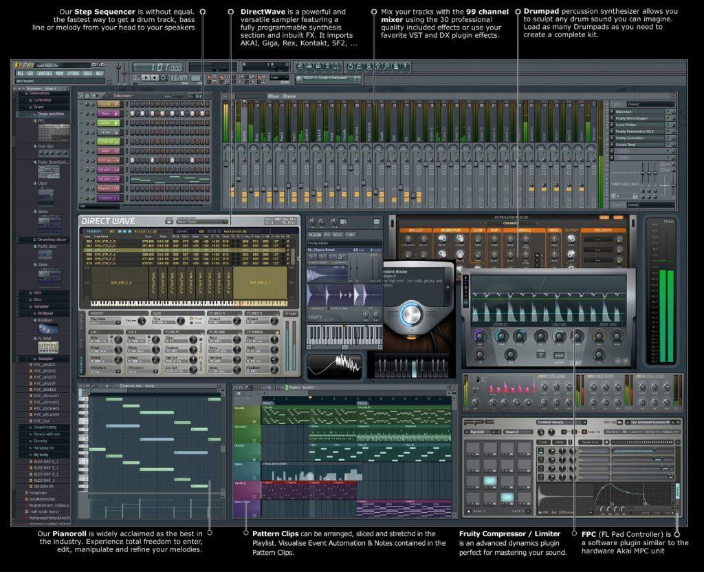 Проекты Fl Studio