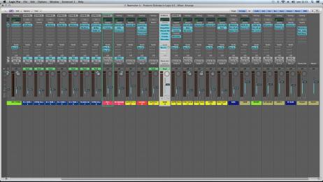 Mixaggio Dubstep in Logic