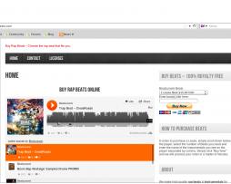 Sito per vendere basi hip hop online
