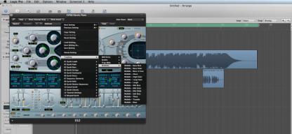 Presets Wobble Bass per Logic ES2