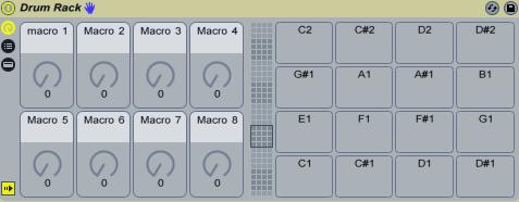 Ableton Live 9 drum rack