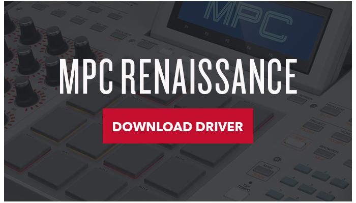 Mpc Renaissance macOS Sierra Driver