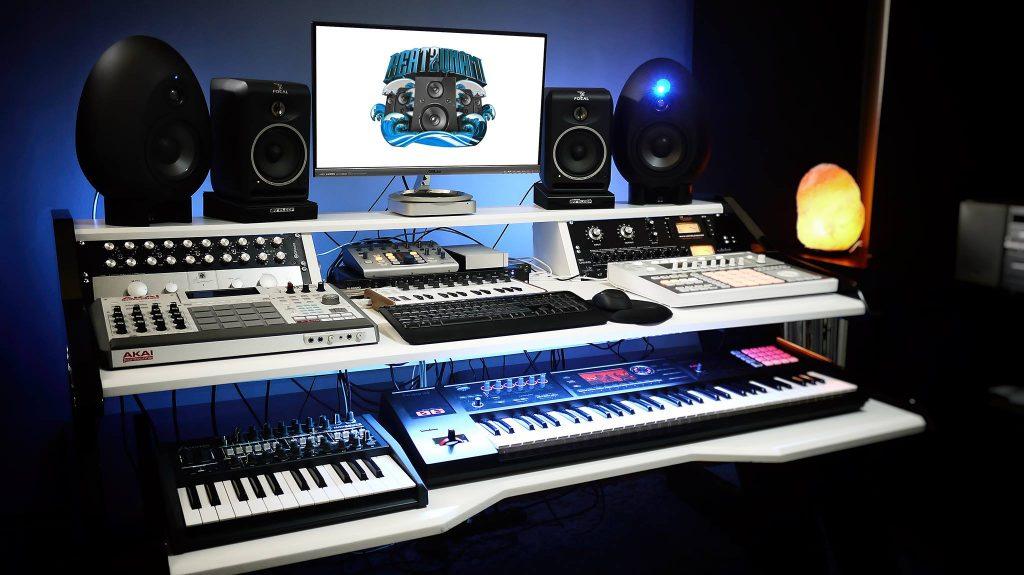 home studio tour