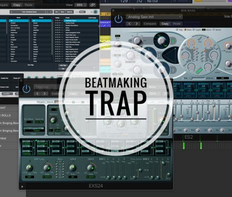 Beatmaking Trap Logic Pro X