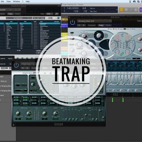 Beatmaking Trap Logic Pro X