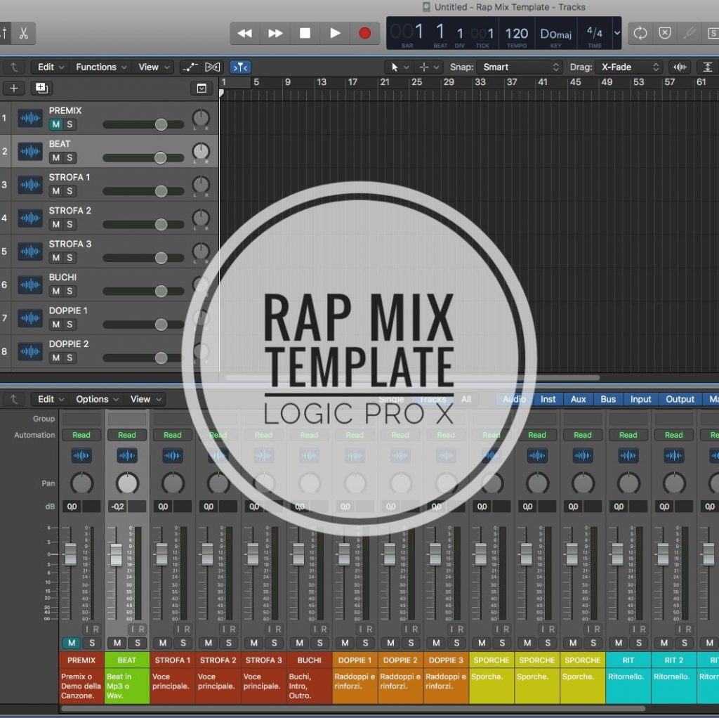 Rap Mix Template